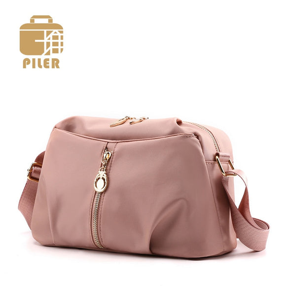 Piler Waterproof Female Crossbody Bag Small Handbag Nylon Women Bag Luxury Shoulder Bag Lady Party Purse Designer Messenger Bag - Mart Lion  Best shopping website