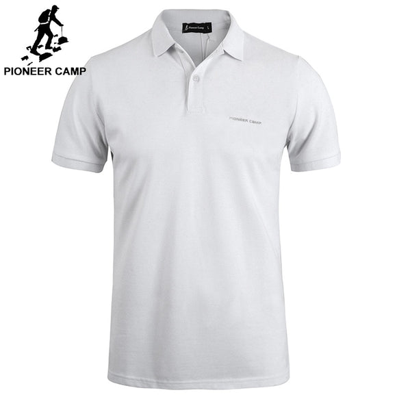 Pionner Camp men polo Shirt Men Business Casual solid male polo shirt Short Sleeve High quality Pure Cotton  Brand clothing - Mart Lion  Best shopping website