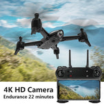 Professio WiFi FPV RC Drone 4K Camera Optical Flow 1080P HD Dual Camera Aerial Video RC Quadcopter Aircraft Quadrocopter Toys  MartLion