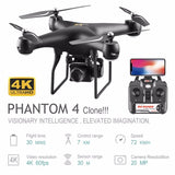 Professional Drone with 4K Rotating ESC Camera HD WiFi FPV Altitude Hold Wide Angle RC Quadcopter Helicopter Toy VS XY4 E58  MartLion
