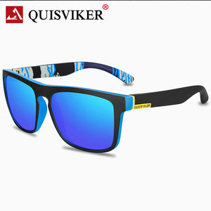 QUISVIKER BRAND 2019 NEW Square Sunglasses Men Polarized Sun Glasses Retro Vintage Goggles Women Fashion UV400 Driving Eyewear  MartLion