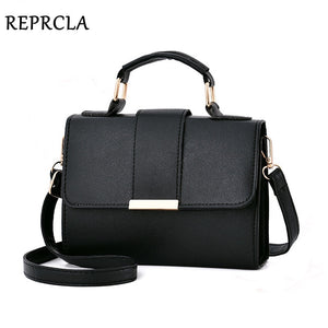 REPRCLA 2020 Summer Fashion Women Bag Leather Handbags PU Shoulder Bag Small Flap Crossbody Bags for Women Messenger Bags  MartLion