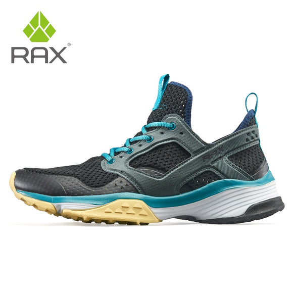 Rax Men Outdoor Running Shoes Lightweight Gym Running Shoes Male Sports Sneakers for Women Breathable Walking Shoes Professional  MartLion.com