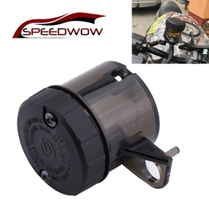 SPEEDWOW Motorcycle Oil Cup  Front Brake Clutch Fluid Bottle Reservoir Cruiser Chopper Oil Reservoir Tank Cup Liquid Bottle  MartLion