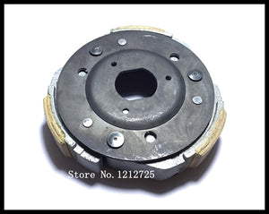 Scooter motorcycle AN125 HS125T transmission driven rear clutch fly grinding block plate AN 125 clutch  MartLion