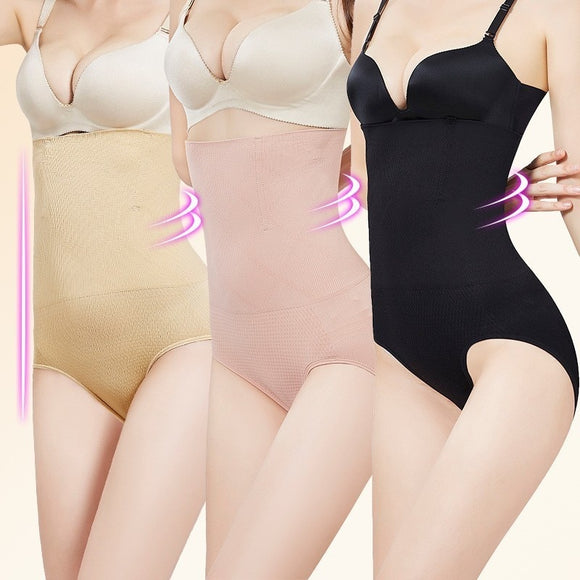 Seamless Women Shapers High Waist Slimming Tummy Control Knickers Pants Pantie Briefs Magic Body Shapewear Lady Corset Underwear  MartLion