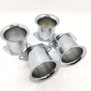 SherryBerg 4PCS Velocity Stacks air horn for WEBER 40/44/48IDF 40DCOE pipe trumpet  4 PIECES  MartLion.com