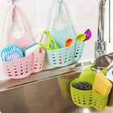 Sink Shelf Soap Sponge Drain Rack Bathroom Snap-on Kitchen Storage Suction Cup Kitchen Organizer Sink kitchen Accessories Wash  MartLion