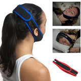 Sleeping Care Tools Anti Snore Stop Snoring Chin Strap Belt Anti Apnea Jaw Solution Sleep Support Apnea Belt Neoprene  MartLion