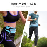 Slim Running Waist Belt Jogging Bag Fanny Pack Travel Money Marathon Gym Workout Fitness Mobile Phone Holder 907  MartLion