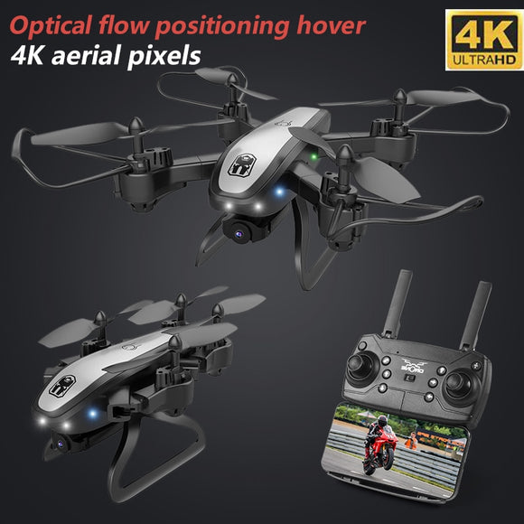 Smart 4K Drone Camera Quadrocopter Drones With Camera HD Quadcopters WIFI FPV RC Helicopter Remote Control Toys  MartLion