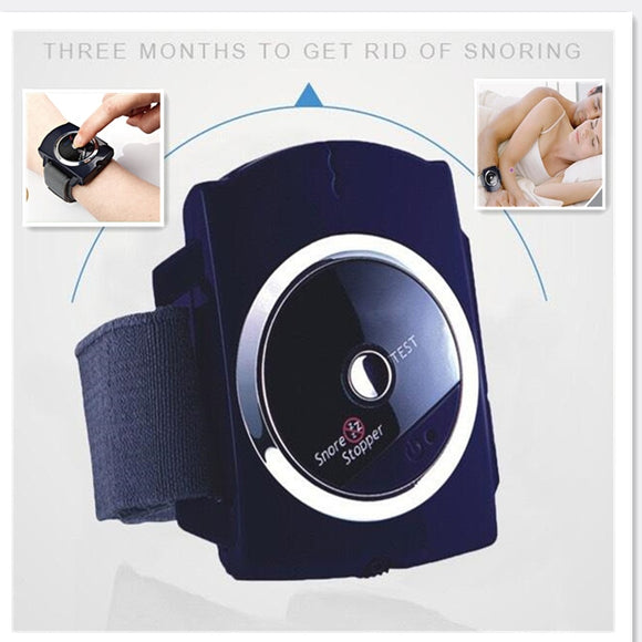 Snore Blocker Stopper Infrared Stop Snoring Wristband Help Sleeplessness For Health Care Tools  MartLion.com