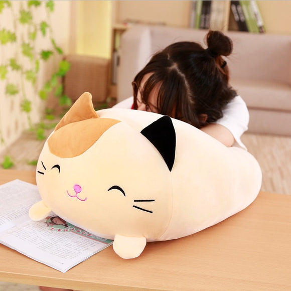 Soft Animal Cartoon Pillow Cushion Cute Fat Dog Cat Totoro Penguin Pig Frog Plush Toy Stuffed Lovely kids Birthyday Gift  MartLion