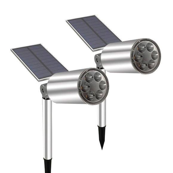 Solar Garden Light Waterproof IP65 Outdoor Solar Spotlight Wireless Sunpower Landscape Lamp for Garden Driveway Pathway  MartLion