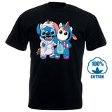 Stitch And Unicorn We Are Best Friends Tshirt Cotton Men S 6Xl Made In Usa  MartLion