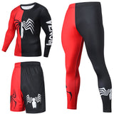 Superhero Compression Tracksuits Men's Sport Suit Quick Dry Running sets Clothes Sports Joggers Training Gym Fitness Man Set  MartLion