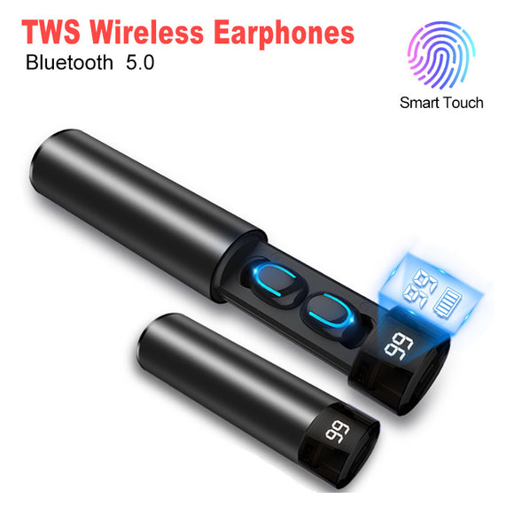 TWS Pro Air Wireless Earbuds Stereo Bluetooth Earphone 5.0 With Dual Mic Sports Waterproof Headphones Auto Pairing Game Headset  MartLion.com