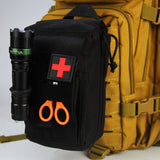 Tactical Molle First Aid Kit Survival Bag 1000D Nylon Emergency Pouch Military Outdoor Travel Waist Pack Camping Lifesaving Case  MartLion