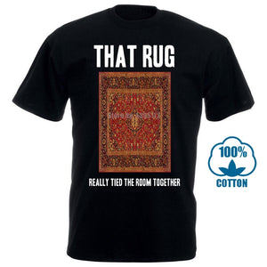 That Rug The Dude Funny Big Lebowski Movie Fan T Shirt - Mart Lion  Best shopping website