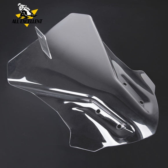 Touring Windscreen For BMW G310GS 2017-2019 G310 GS 2018 windshield Transparent and gray Wind Deflector Protector Cover  MartLion