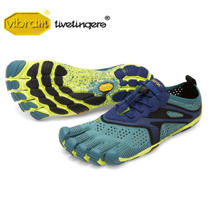 Vibram Fivefingers V-RUN Men's Outdoor Sports Road Running Shoes Five fingers Breathable Wear resistant Five-toed Sneakers  MartLion