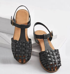 Vogue WoMen Sandals Nice Summer Women Sandals Open Toe Comfortable  Buckle Straps Roman Ladies Shoes Fashion Jly8  MartLion