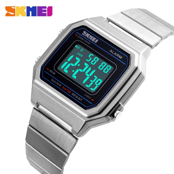 Watches Men Military Electronic Mens Sports Watches Top Brand Luxury Male Clock Waterproof LED Digital Watch reloj hombre SKMEI  MartLion