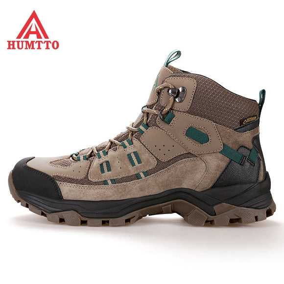 Water-proof climbing shoes for women in autumn and winter Men's Gaobang is breathable and wear-resistant outdoor hiking  MartLion