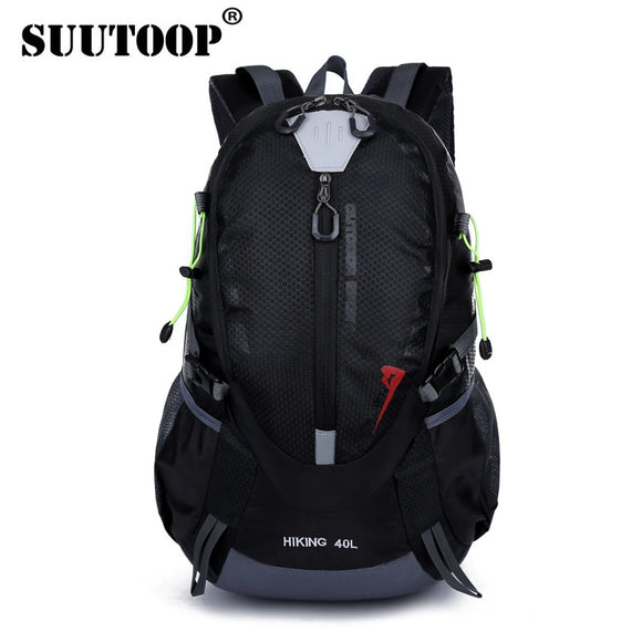 Waterproof Men's Backpack Travel Backpack Large Capacity Casual Sport Black Nylon Out Door Bag pack For Male Fashion School Bags  MartLion.com