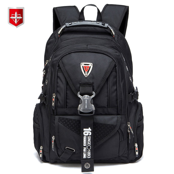 Waterproof Oxford Swiss Backpack Men 17 Inch Laptop backpacks Travel Rucksack Female Vintage School Bags Casual bagpack mochila  MartLion