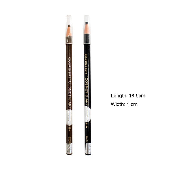 Waterproof eyebrow pencil for permanent makeup coloration sourcils pencil Stereotypes pen Easy use