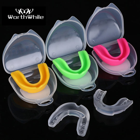 WorthWhile Sport Mouth Guard EVA Teeth Protector Kids Adults Mouthguard Tooth Brace Protection Basketball Rugby Boxing Karate  MartLion
