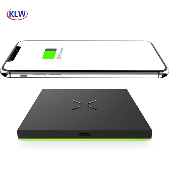 X6 Square  innovative  fashion Mobile Smart wireless Charger for android  ISO