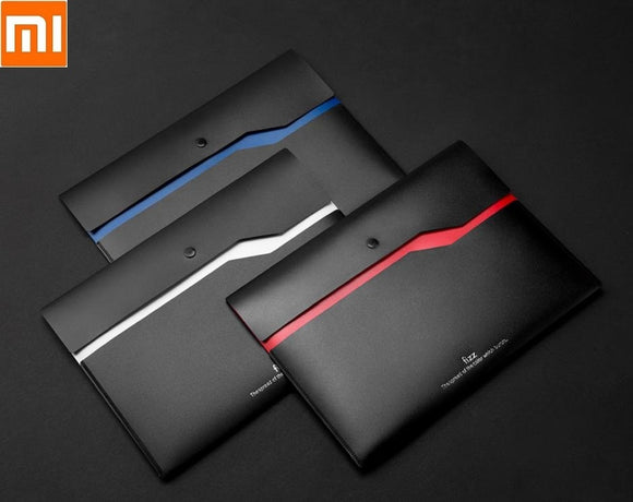 Xiaomi Fizz color double-layer file bag 6pcs Double-layer pocket Document storage bag - Mart Lion  Best shopping website