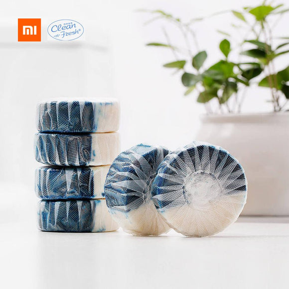 Xiaomi Mijia Clean-n-fresh Double-effect Toilet Block Independent Water-soluble Film Packaging Anionic Active Factor Deep Clean  MartLion.com