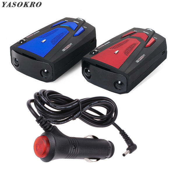 YASOKRO™ Car Vehicle Radar Detector 360 Degree Anti Car Detector V7 Speed Voice Alert Warning 16 Band Speed Control Detector - Mart Lion  Best shopping website