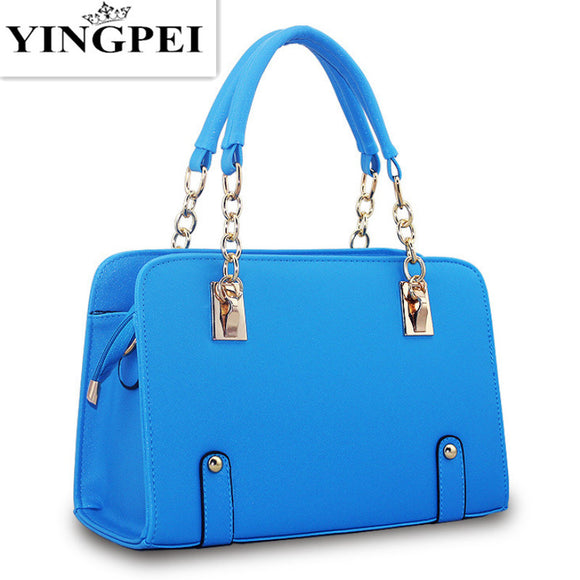 YINGPEI Women Messenger Bags Casual Tote Femme Fashion Luxury Handbags Women Bags Designer Pocket High quality  MartLion.com