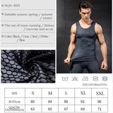 Yel New Compression Tights Gym Vest Top Quick Dry Sleeveless Sport Shirt Men Gym Clothing For Summer Cool Men's Running Vest  MartLion