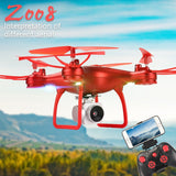 Z008 Drone aerial photography wifi real-time image transmission four-axis aircraft fixed-height remote control aircraft  MartLion