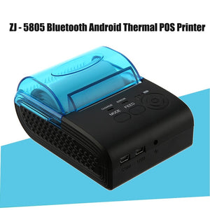 ZJIANG ZJ-5805 Pos Terminal 58mm Bluetooth Android 4.0 POS Receipt Thermal Printer Bill Machine For Supermarket EU/US/UK PLUG  MartLion
