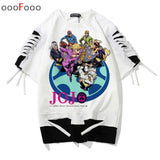 jojo bizarre adventure t shirt Oversized t-shirt 2019 cartoon Unisex tshirt men Printed top shirts male/women hip hop Anime tee  MartLion