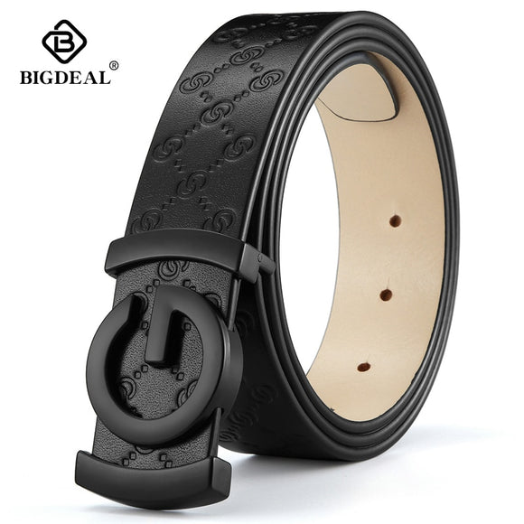 men belt cow genuine leather designer belts for men high quality fashion vintage male women strap for jeans cow skin - Mart Lion  Best shopping website