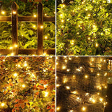 solar LED String Light Christmas light Garland 50/100 LED Fairy Lights With Battery Outdoor Garden Party Tree Wedding Decor  MartLion