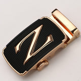 zpxhyh Genuine Men's Belt Head, Belt Buckle, Leisure Belt Head Business Accessories Automatic Buckle Width 3.5CM luxury fashion  MartLion