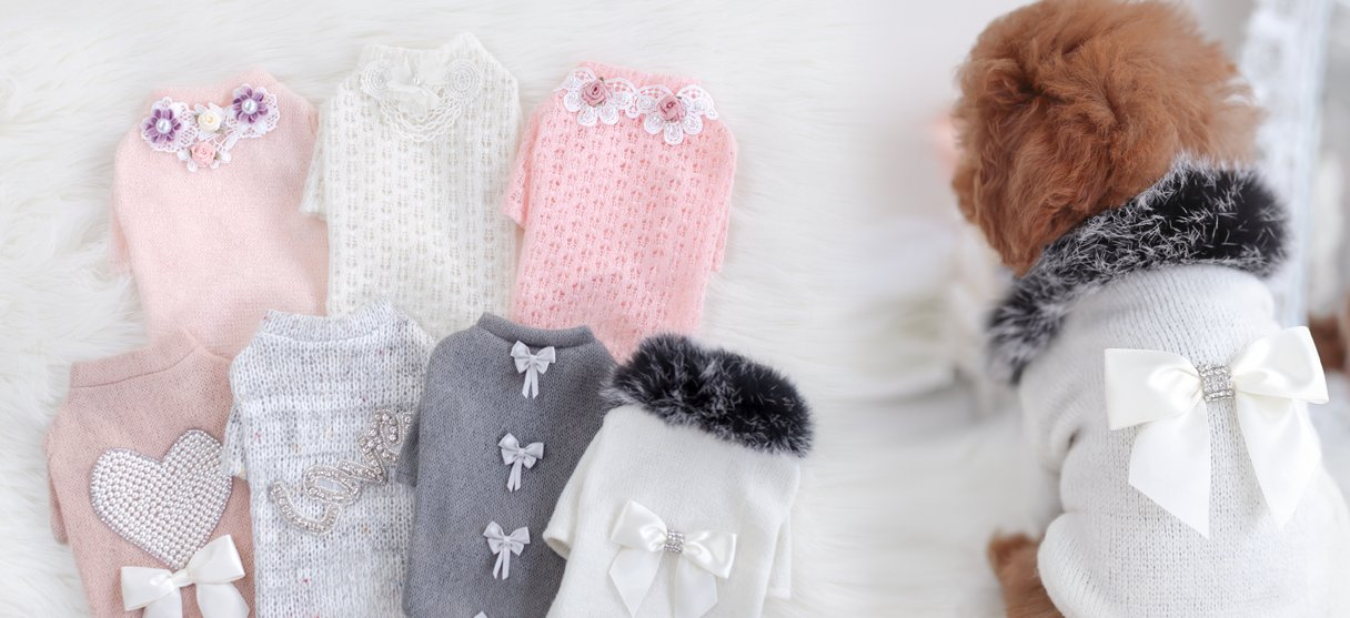 Teacup Dog Sweaters, Dog Clothes, Luxury Pet Boutique