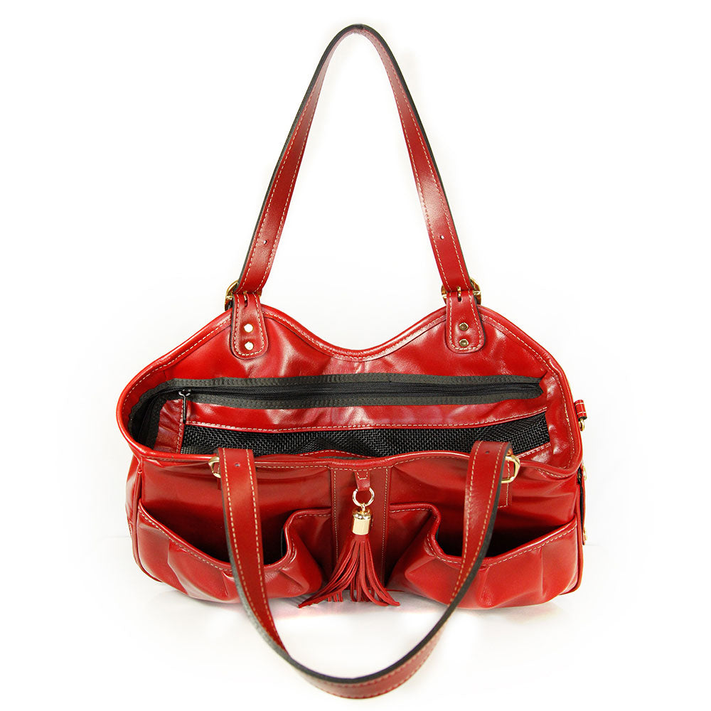 Metro Classic Pet Carrier: Ruby Red