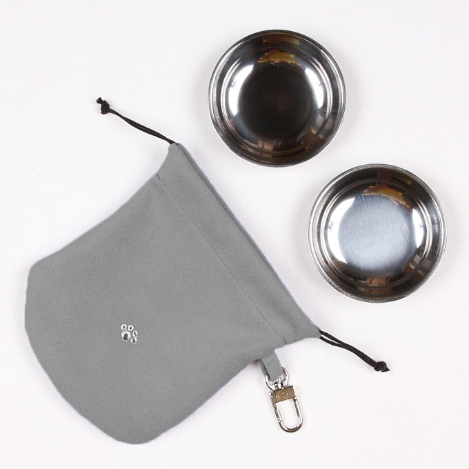 Travel Dog Bowl Set