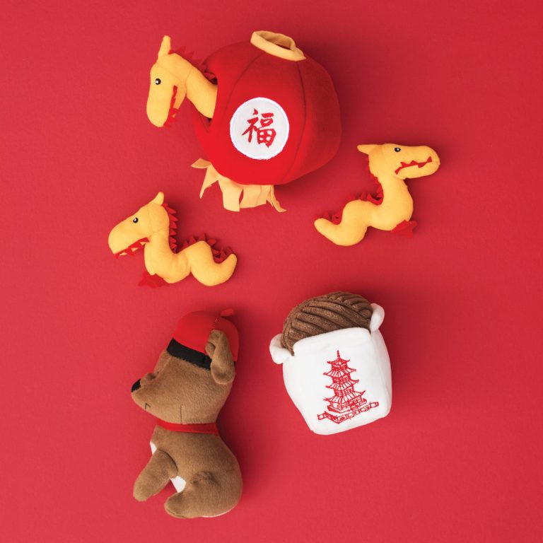 Pet Boutique - Dog Toys - Chinese Take Out Dog Toy