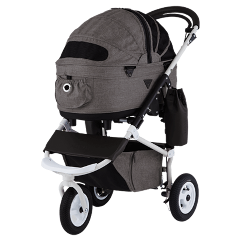 Dome 2 Brake Pet Stroller: Earth Series Brown (M)
