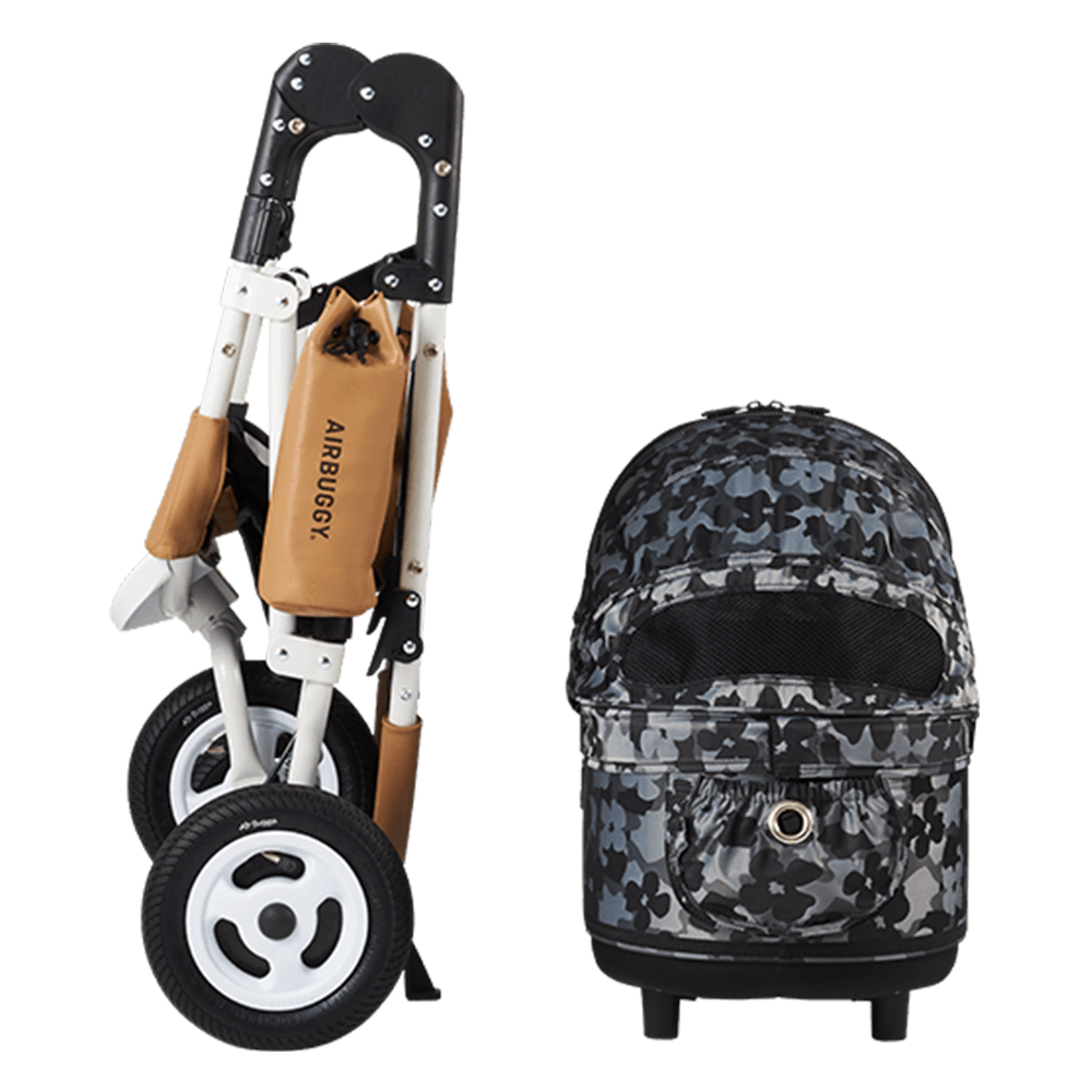 LTD Edition Flower Camo Dog Stroller (M)